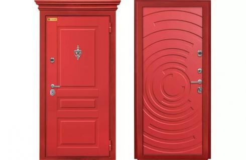 Фараон, Металлическая дверь в дом Окленд