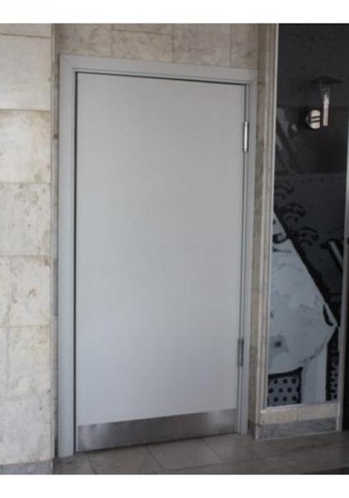Защитные Конструкции, Дверь деревянная маятниковая