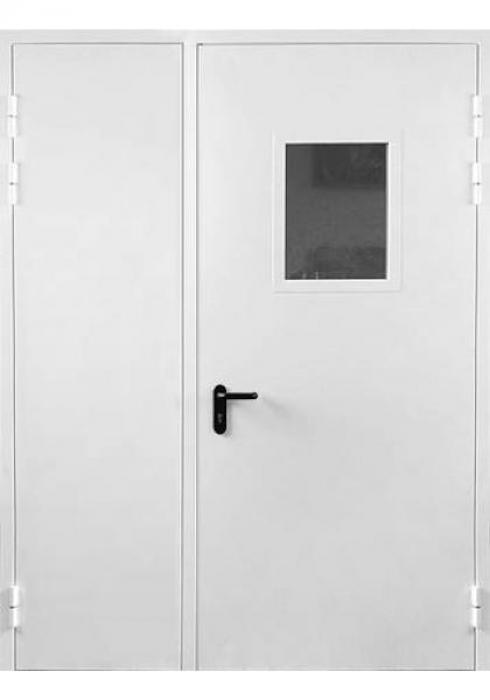 Дельта-сталь, Дверь металлическая противопожарная двупольная