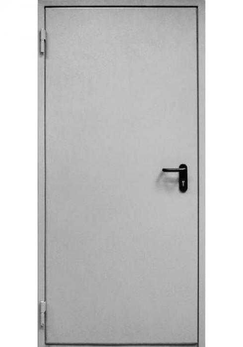 Дельта-сталь, Дверь металлическая противопожарная однопольная ДМП 1