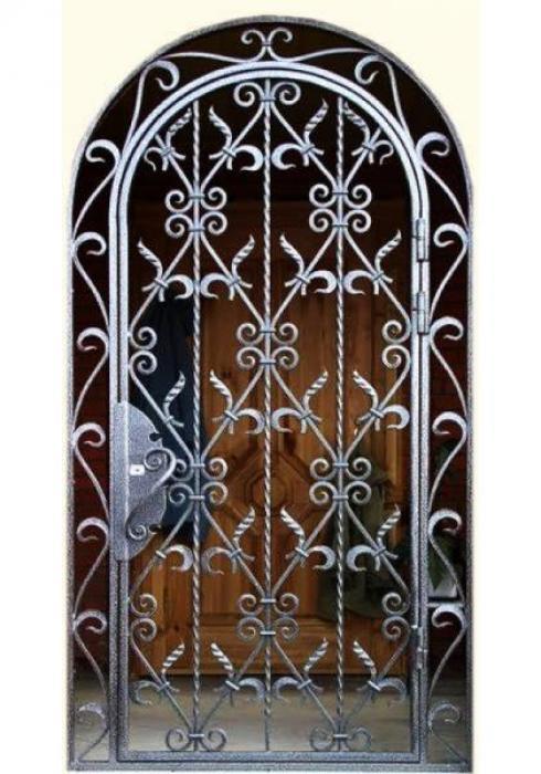 Дельта-сталь, Дверь металлическая решетчатая