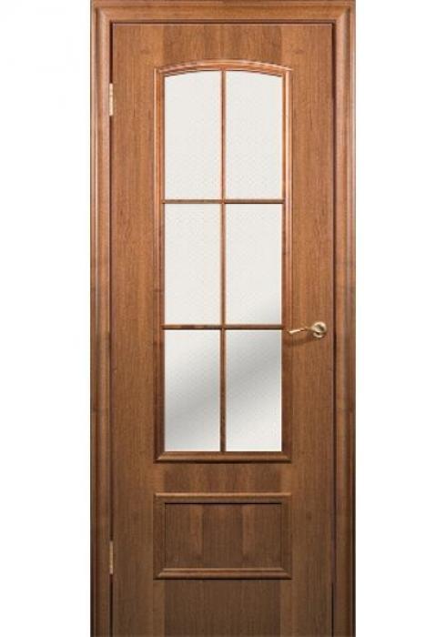 Краснодеревщик, Дверь межкомнатная 208 Темный Орех Стекло Матовое