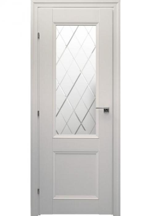 Краснодеревщик, Дверь межкомнатная 33.24Ф Белый Матовое стекло