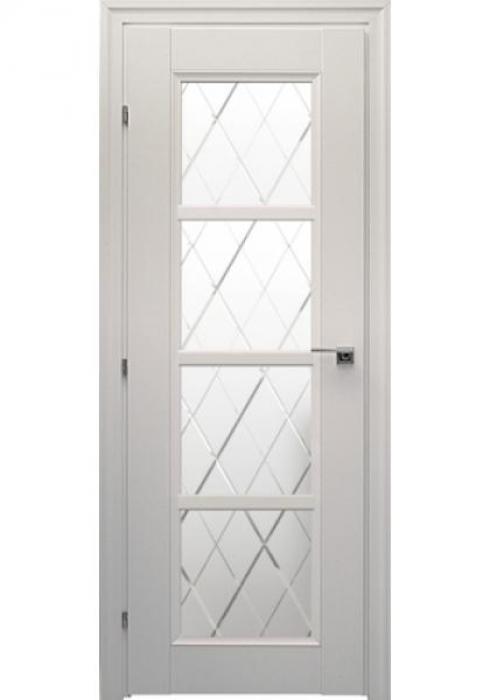 Краснодеревщик, Дверь межкомнатная 33.40Ф Белый Матовое стекло