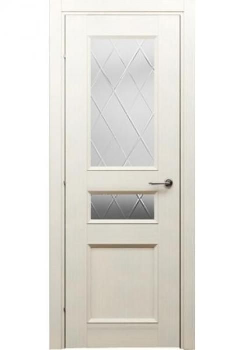 Краснодеревщик, Дверь межкомнатная 33.44 Дуб Выбеленный Стекло Матовое