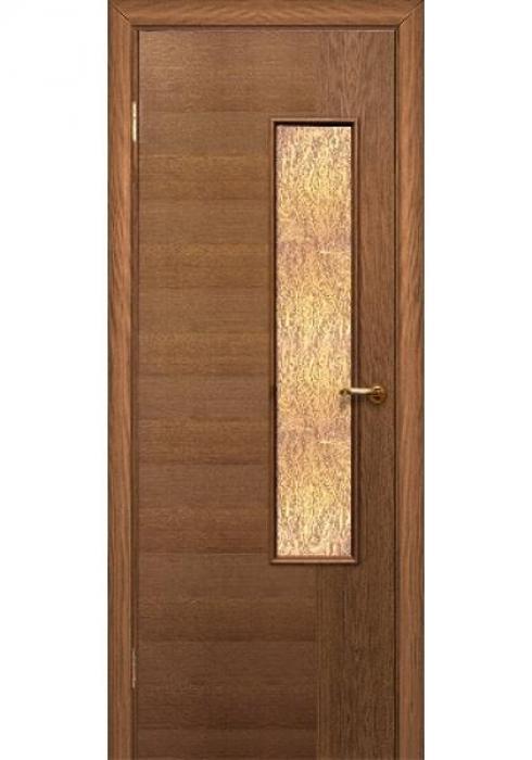 Краснодеревщик, Дверь межкомнатная 346 Английский Дуб Стекло Декоративное
