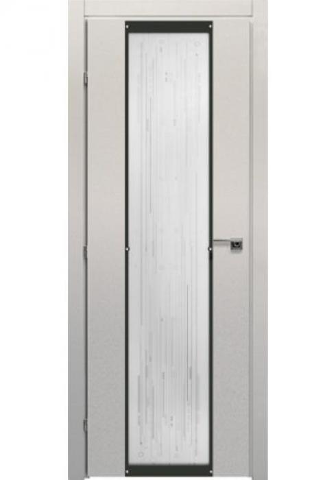 Краснодеревщик, Дверь межкомнатная 50.04 Белый Вклеенное стекло