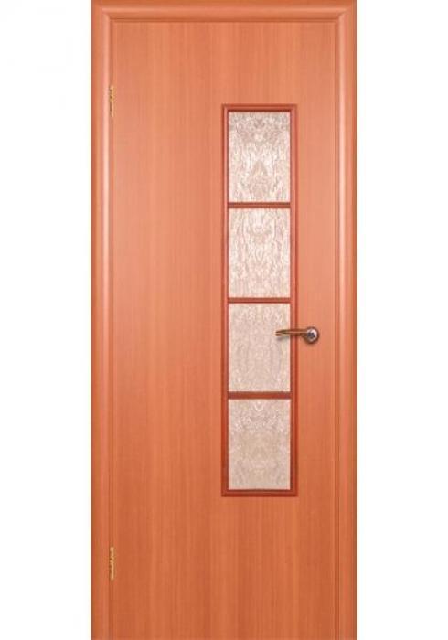 Краснодеревщик, Дверь межкомнатная 512 Итальянский Орех Стекло Декоративное