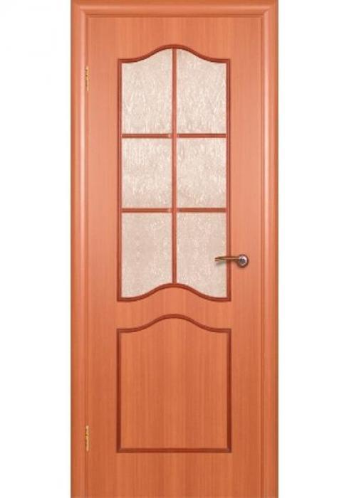 Краснодеревщик, Дверь межкомнатная 516 Итальянский Орех Стекло Декоративное