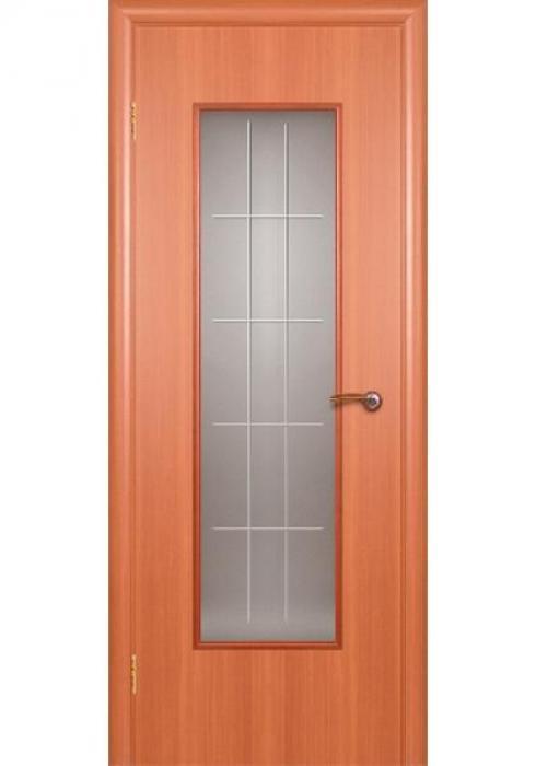 Краснодеревщик, Дверь межкомнатная 517 Итальянский Орех Стекло Художественное
