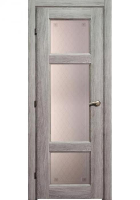 Краснодеревщик, Дверь межкомнатная 63.42 Дуб Пепельный Стекло Пико