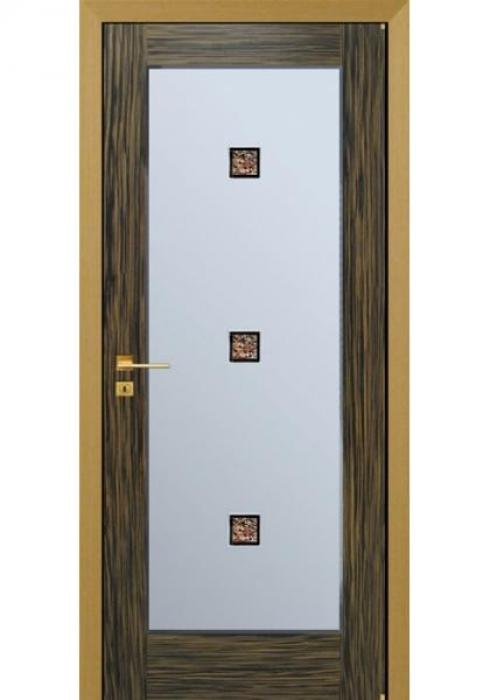 RosDver, Дверь межкомнатная Черный эбен