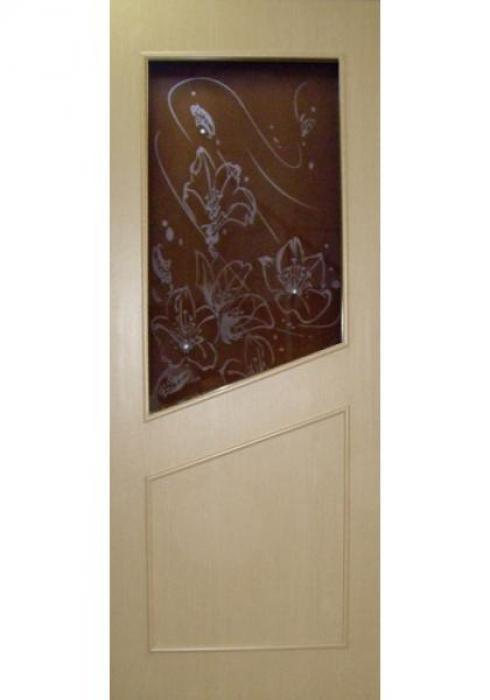 УралDOORS, Дверь межкомнатная ДО 012 Цветы Swarowski