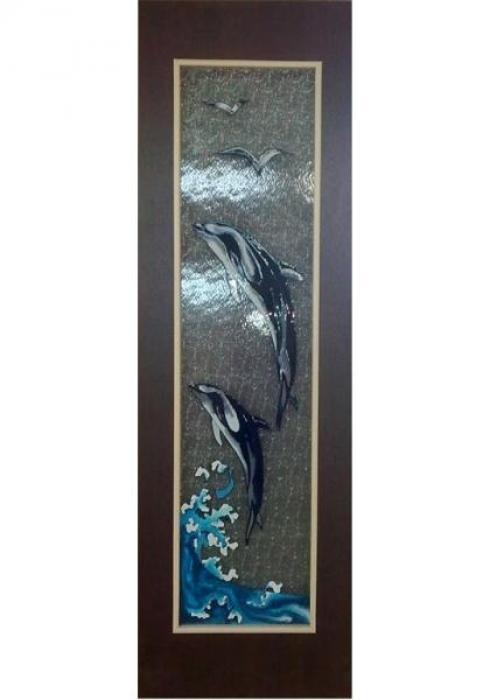 УралDOORS, Дверь межкомнатная ДО 015 Дельфины
