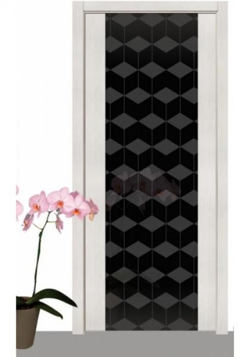 Бриз, Дверь межкомнатная ЭКОШПОН 3Д М-80.2 Куб