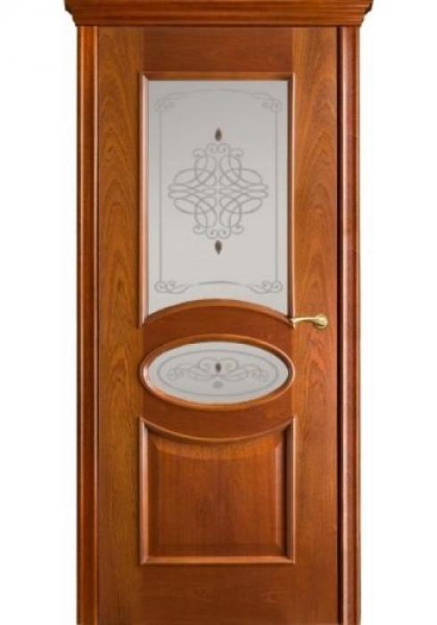 Оникс, Дверь межкомнатная Эллипс с остеклением