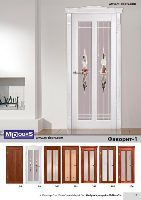 M-Doors, Дверь межкомнатная Фаворит 2 ДО M-Doors