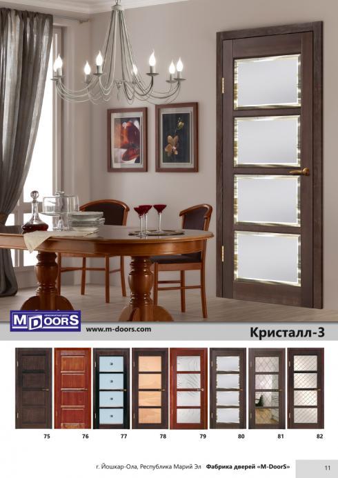 M-Doors, Дверь межкомнатная Фаворит 4 ДО витраж M-Doors