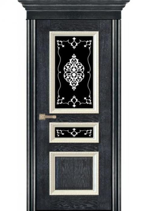 Маркеев, Дверь межкомнатная Франческа черное серебро