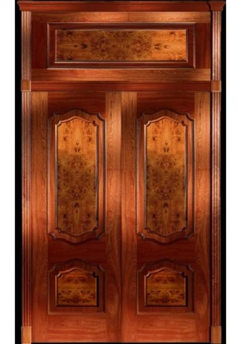 Арболеда, Дверь межкомнатная Кармен 61КД с корнем вяза Арболеда