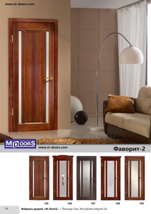 M-Doors, Дверь межкомнатная Классика ДО венге M-Doors