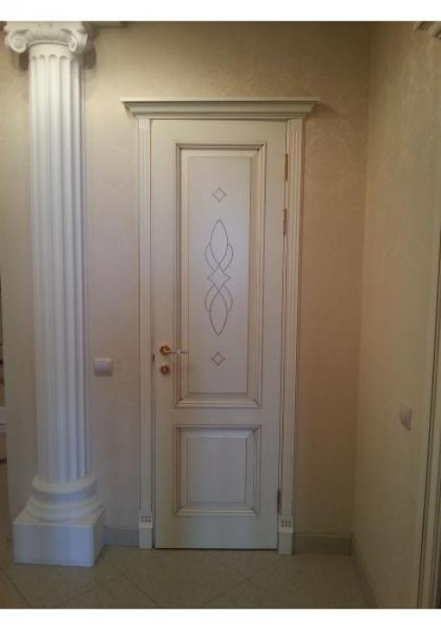Мобили Порте, Дверь межкомнатная Классика эмаль 3 Мобили Порте