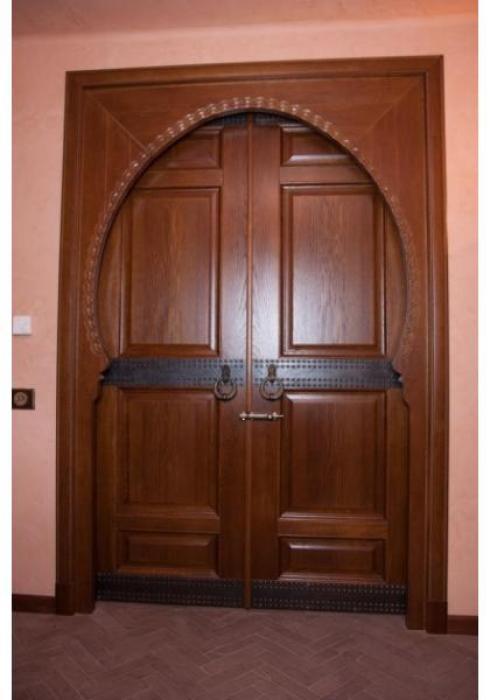 Мобили Порте, Дверь межкомнатная Классика шпон 32 Мобили Порте