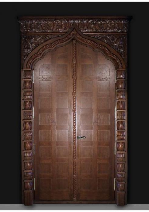 Мобили Порте, Дверь межкомнатная Классика шпон 35 Мобили Порте