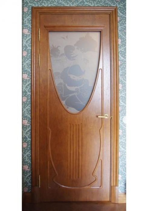 Мобили Порте, Дверь межкомнатная Классика шпон 37 Мобили Порте