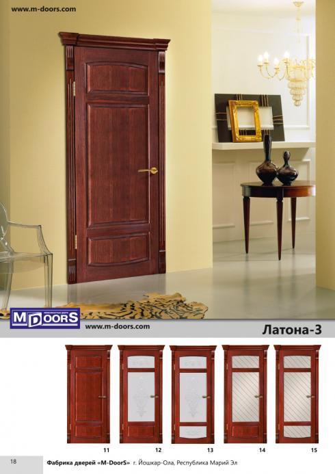 M-Doors, Дверь межкомнатная Кристалл 4 ДГО M-Doors