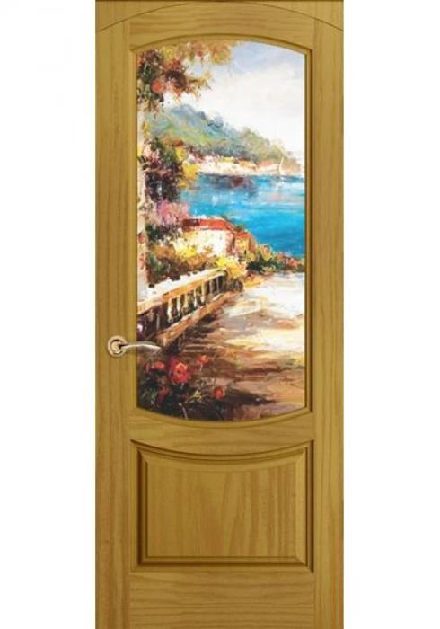 Океан Дверей, Дверь межкомнатная Лувр арочный Новелла