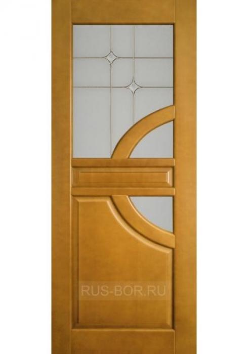 Русский Бор, Дверь межкомнатная Люкс Евро модель 2