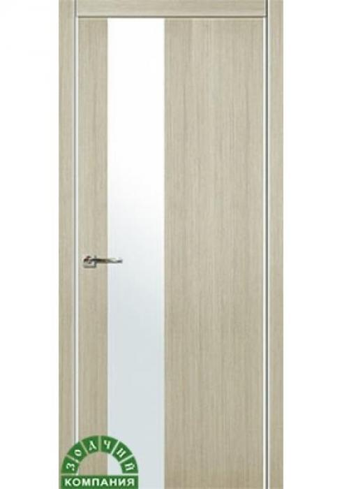 Зодчий, Дверь межкомнатная Мегаполис В1 алюминиевая кромка