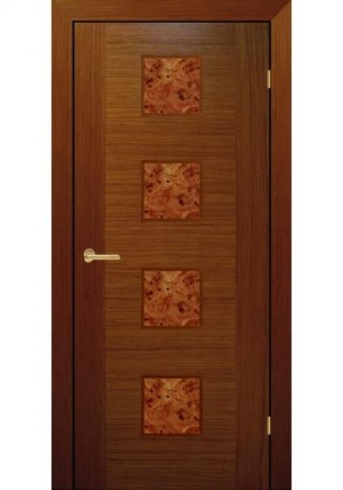 RosDver, Дверь межкомнатная Орех глухое Вар 1