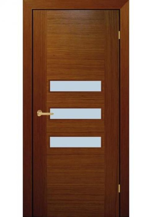 RosDver, Дверь межкомнатная Орех Стекло Вар 2