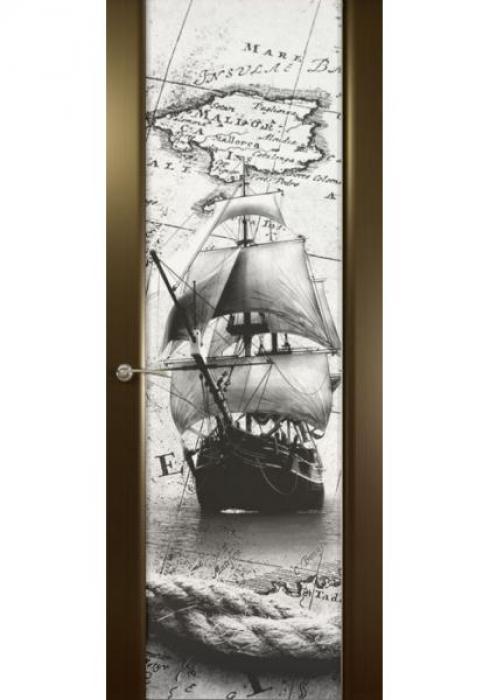 Дверь межкомнатная Шторм 3 Бриг, Дверь межкомнатная Шторм 3 Бриг