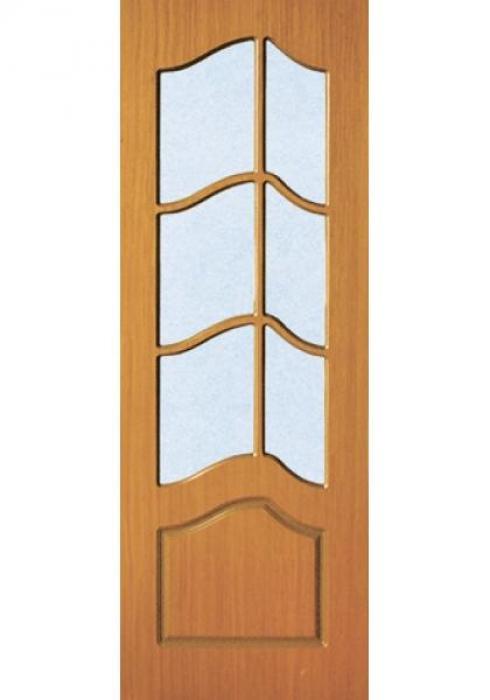 Корона, Дверь межкомнатная Смещённый крест ДО