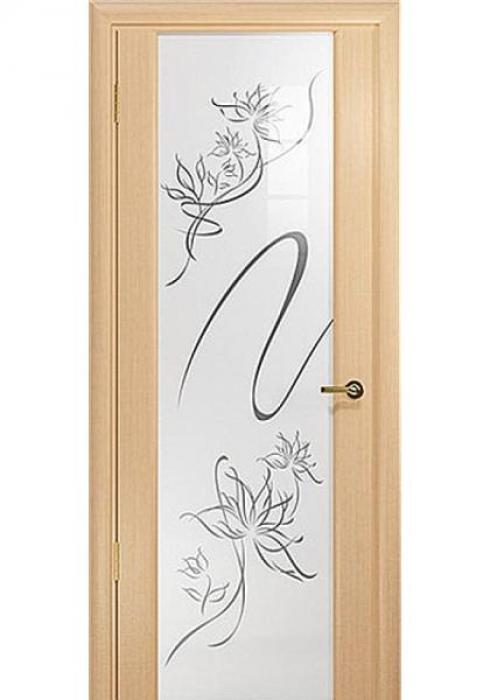 Русна, Дверь межкомнатная Техно 3 с рисунком Русна