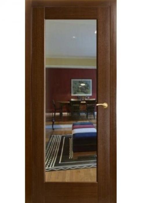Оникс, Дверь межкомнатная Техно с зеркалом