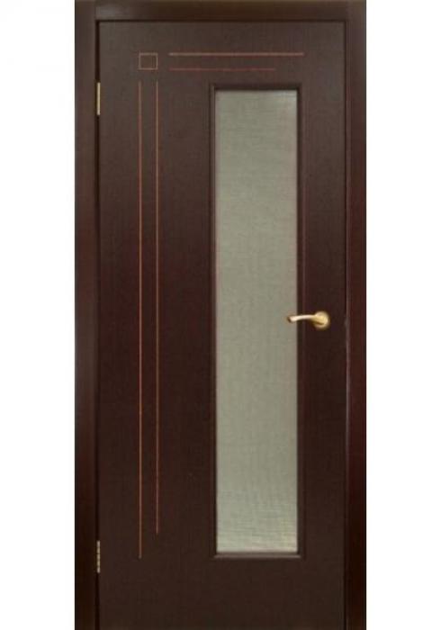 Оникс, Дверь межкомнатная Вертикаль с остеклением