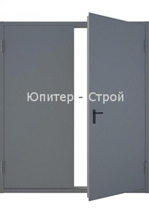 Юпитер-Строй, Дверь противопожарная двустворчатая Юпитер 2 с низким порогом