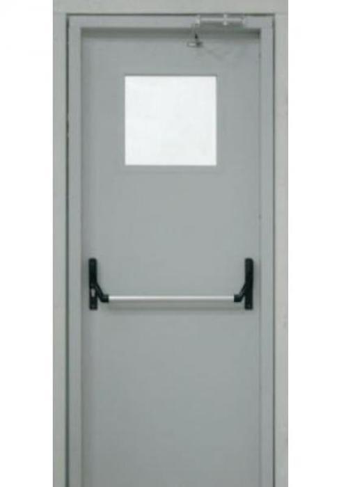 First Doors, Дверь противопожарная однопольная