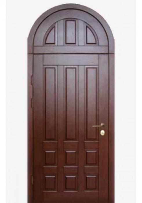 First Doors, Дверь входная арочная с глухой фрамугой