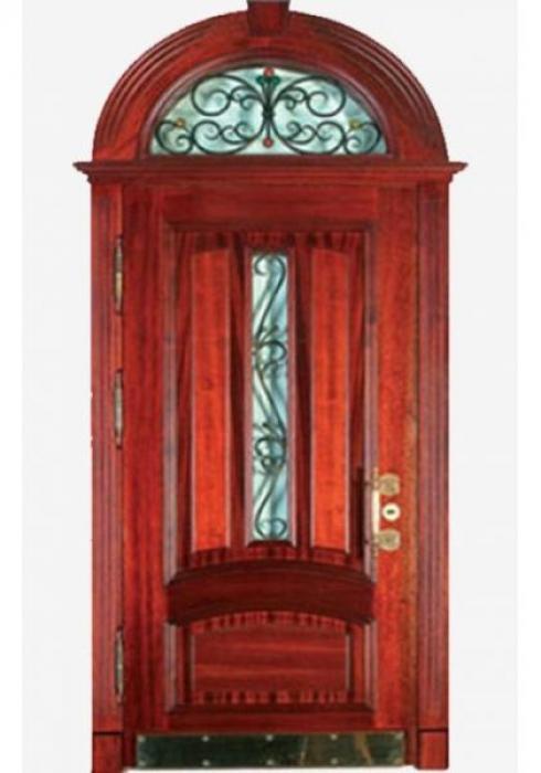 First Doors, Дверь входная арочная с ковкой