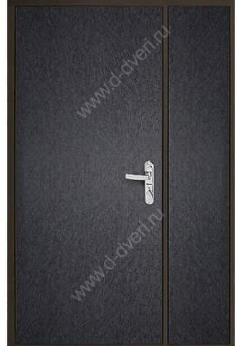 Дельта-сталь, Дверь входная двухстворчатая металлическая ДМД 3 - внутренняя сторона