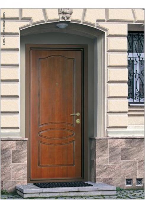 Зверь, Дверь входная Корабельная фанера Зверь