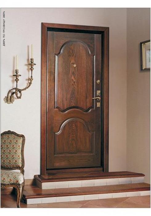 Зверь, Дверь входная Массив дуба