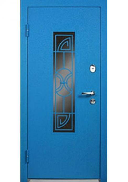 СТАЛЬЕР, Дверь входная металлическая 67 Street стекло - внутренняя сторона