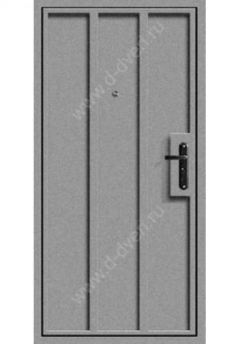 Дельта-сталь, Дверь входная металлическая ДМО 1 - внутренняя сторона