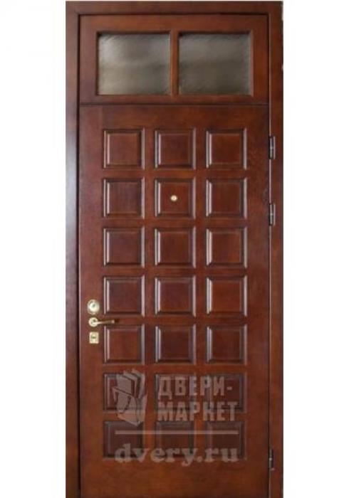 Двери-Маркет, Дверь входная металлическая филёнчатая 02